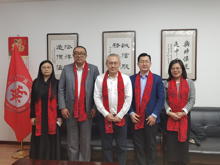 青岛习远咨询有限公司张晓董事长一行到访华政所交流